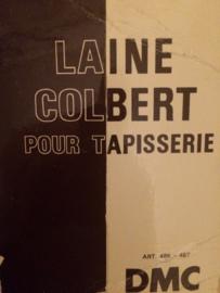 . Kleurenkaart DMC Colbert Laine Pour Tapisserie | Colbert Laine floss chart | 70s