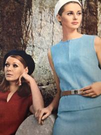 Madeleine: mode en patronenblad van Margriet   1968, nr. 7 juli - gratis radarblad