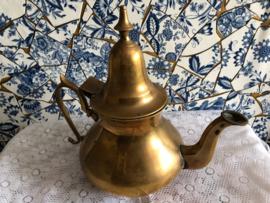 Geel koper | Arabische theepot