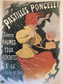 Taschen ansichtkaart Art Nouveau: Pastilles Poncelet