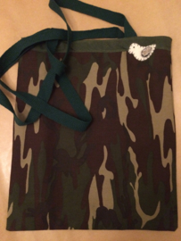 "Shopper ""Go out in the Forest Bag"" Tote (M)"