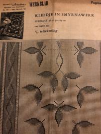 Ariadne: maandblad voor handwerken | 1960 nr. 156 - DEC '59 - JAN '60  - ALLEEN WERKBLAD - KERST