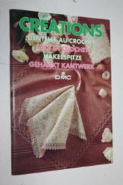 Haken | Boeken | DMC | CREATIONS: Gehaakt kantwerk - Dentelle au crochet - Dentelle au crochet - Häkelspitze