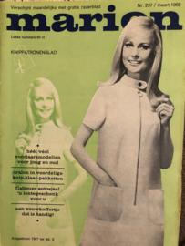 1968 | Marion knippatronenblad | nr. 237 - maart 1968 - met radarblad
