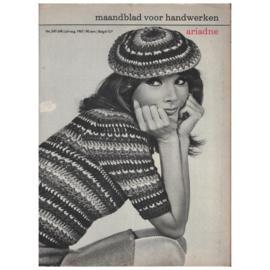 VERKOCHT | Ariadne: maandblad voor handwerken | 1967 - nr. 247-248 juli-aug. 1967