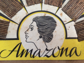 "1890 | Amazona | Antieke wel ""roestige"" haarspelden Jugendstill 