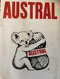 Austral wol- en katoenlabels & advertenties