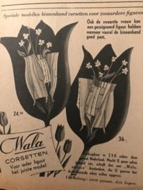 1951 - Advertentie Wala corsetten