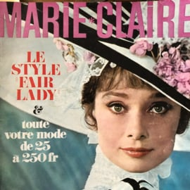 1965 | Marie Claire - 15 Mars 1965 no. 132 | Le Style Fair Lady - Audrey Hepburn