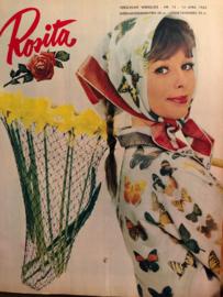1962 - Rosita -  weekblad voor vrouwen 14 april 1962