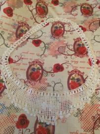 Engeland | Antiek gehaakt nachthemd kraagje  | ca. 1910