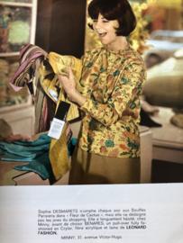 1965 | Jours de France Special Haute Couture 1 Mars 1965  -Modeles Jeanne Lanvin