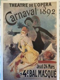 Taschen ansichtkaart Art Nouveau: Carnaval 1892