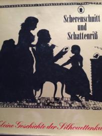 Boeken | Papier | Scherenschnitt und Schatterriss, kleine Geschichte der Silhouettenkunst