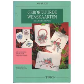 Boeken | Hobby | Papier | Geborduurde wenskaarten - Ans Sileon TIRION