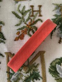 Band  | Biaisband | Licht rood  | 2 cm | 100% katoen | Derco - kleurecht : patents pending