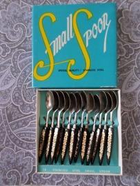 Vintage lepeltjes - made in Japan (12 stuks) | jaren '60