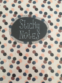 "Stickey notes ""naaimachines"" | Nieuw"