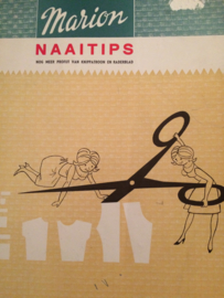 Boeken | Naaien | VINTAGE | Marion Naaitips nog meer profijt van knippatroon en radarblad | 1966