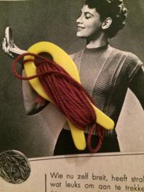 Vintage breivisje met garen | jaren '70