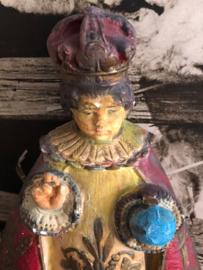 Sleets brocante kindje Jezus van Praag -Tongeren  België   ca. 1940-1945