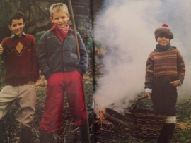 Tijdschriften   Breien   Pinguin nr. 053   Jongens en meisjes 8-10-12 jaar - 31 modellen en accessoires