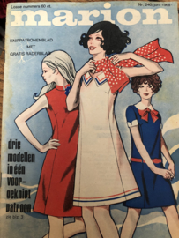 1968 | Marion naaipatronen maandblad | nr. 240 juni 1968 - met radarblad