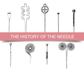 Geschiedenis naainaalden en spelden