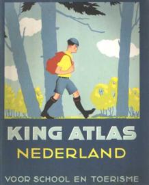Boeken | Nederland | King Atlas Nederland voor school en toerisme | 1977 - vintage