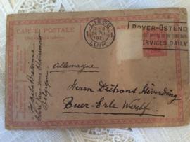 Oude papieren documenten