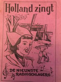 1935 | Muziek | Songteksten | Holland zingt de nieuwste radioschlagers (Liedjes)