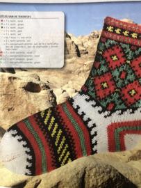 Breien | Breipatronen | Sokken in jaquardpatroon met rondgebreide hiel - maat 36 - 38