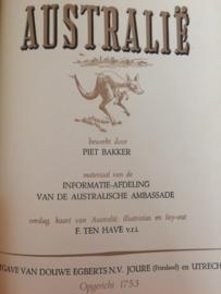 Australië | 1954 | Verzamelalbum | Douwe Egberts N.V. Joure (Friesland) en Utrecht | 1954