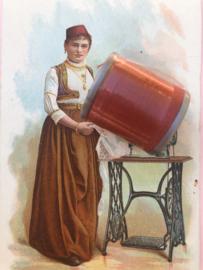 9316 - Garen | Mölnlycke Sytrad Göteborg | Rood 9316 110 m. 120 Yard Yarn 100% polyester naaigaren klosje 2 x 3 cm | Vintage