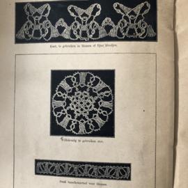 VERKOCHT  | Boeken | Frivolité | Beyer's handwerkboeken serie H no. 40 | Frivolité 1915-1920