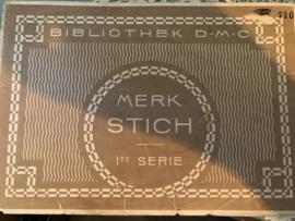 Boeken | Bibliothèque DMC | Kruissteken | MERK STICH Ite SERIE - BIBLIOTHEK D.M.C.  | 1918