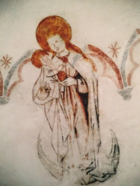 Engel op glanspapier - kunstfoto