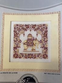 DMC | Borduurpatroon - Telpatroon olifantje India - Collections Privées - 'La Route de la Soie'  - REF. 1506