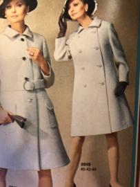 Madeleine: mode en patronenblad van Margriet 1968, nr. 11 november  - gratis radarblad