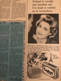 1962 | Advertentie Cadum Zeep