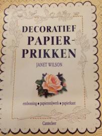 Boeken | Papier | Pergamano | Decoratief papierprikken  | Cantecleer