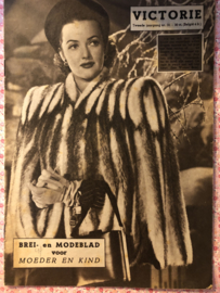 1947   VICTORIE BREI en MODEBLAD voor MOEDER en KIND - Tweede jaargang nr. 31 31 december 1947