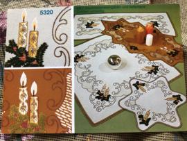 MEZ - DellWea MEZ - Sticktwist 5320  - borduren | Kerstkleedjes reclame materiaal