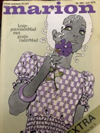 1970 | Marion naaipatronen maandblad | nr. 264 juni 1970 - jurken, kinderkleding