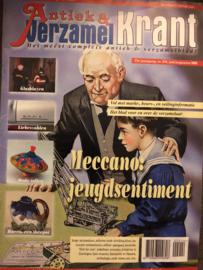 2005 | Tijdschriften | Verzamelen | 21st jaargang, nr. 214 juli/aug 2005 - glasblazen - tollen - theepotten  - militair speelgoed