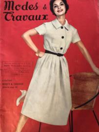 1957 | Modes Travaux Magazine - Aout 1957 - N° 680 - 39e Année - zonder patroonblad