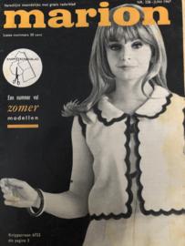 1967 | Marion naaipatronen maandblad | nr. 228 - juni 1967 - met radarblad - VERKOCHT