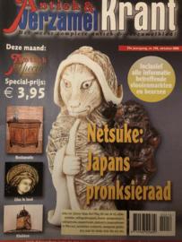 2005 | Tijdschriften | Verzamelen | 21ste jaargang, nr. 216 oktober 2005 - Netsuke - Glas in lood - Klokken