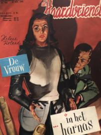 Tijdschriften | De Haardvriend - nr. 826 - 19e jaargang 20 juli 1952 * De vrouw in het harnas - Helene Roland