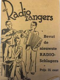 1938 | Muziek | Songteksten | de Radiozangers: Bevat de nieuwste RADIO-Schlagers